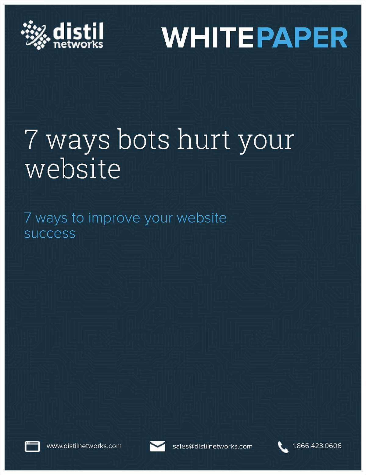 7 Ways Bots Hurt Your Website