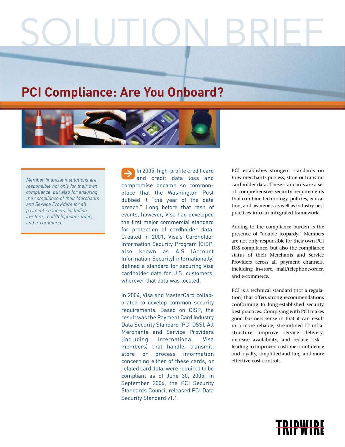 PCI Compliance: Are You Onboard?