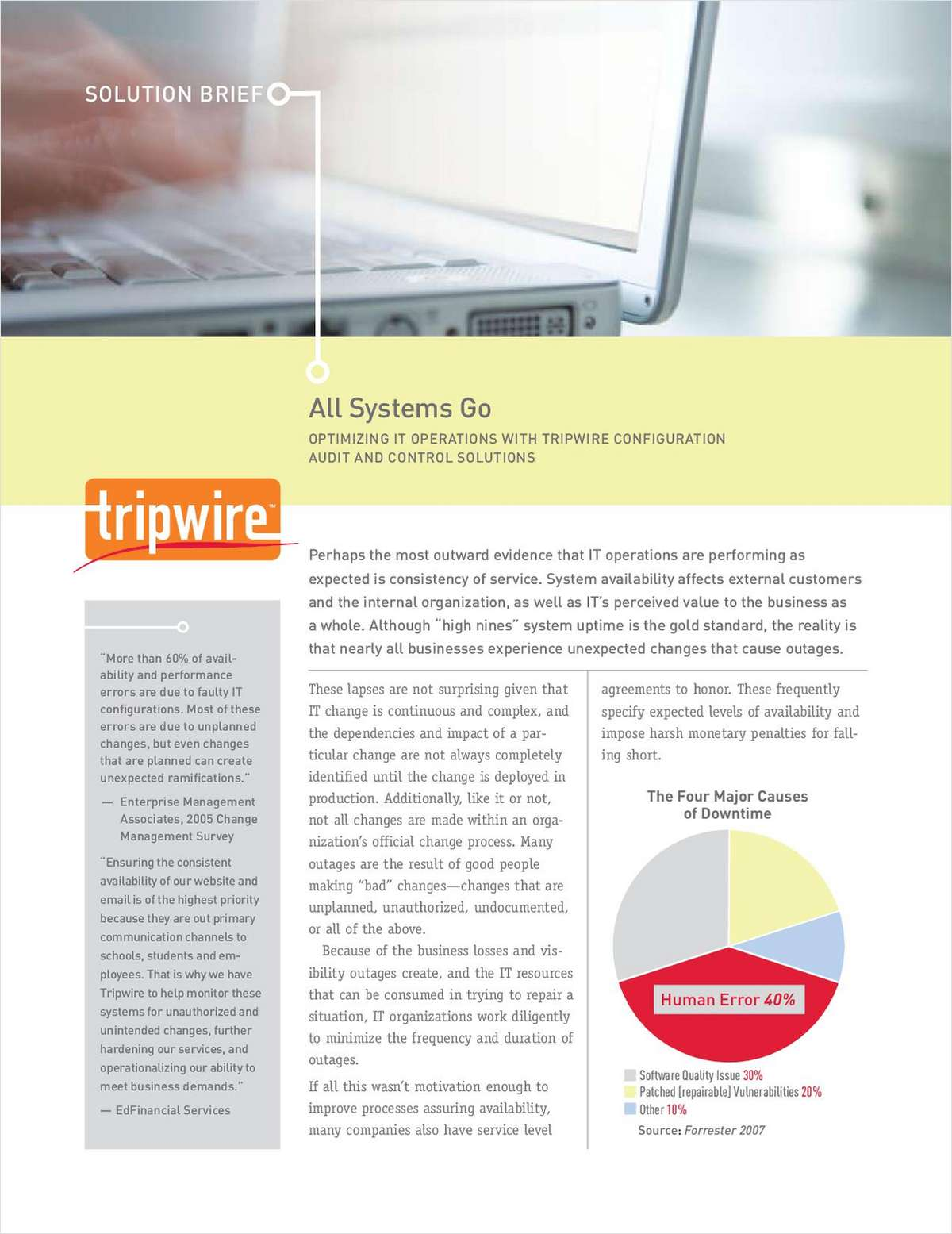 All Systems Go: Optimizing IT Operations with Tripwire