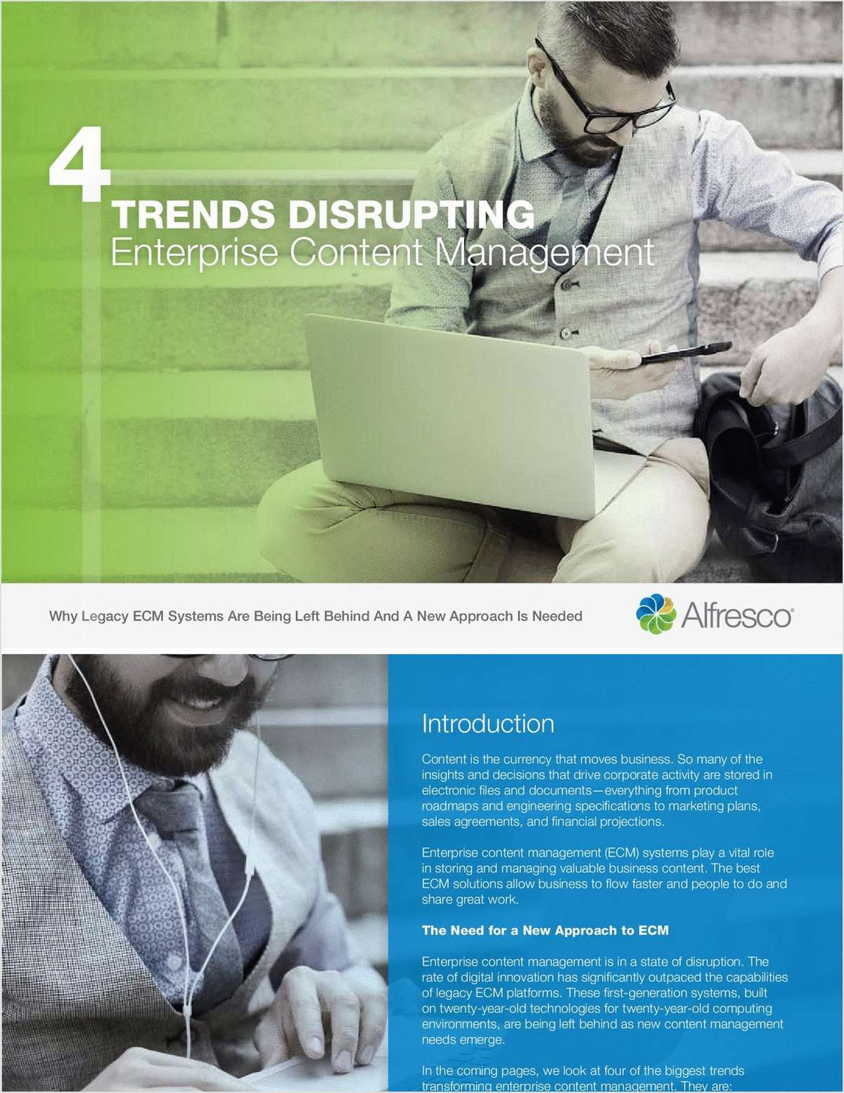 4 Trends Disrupting Enterprise Content Management