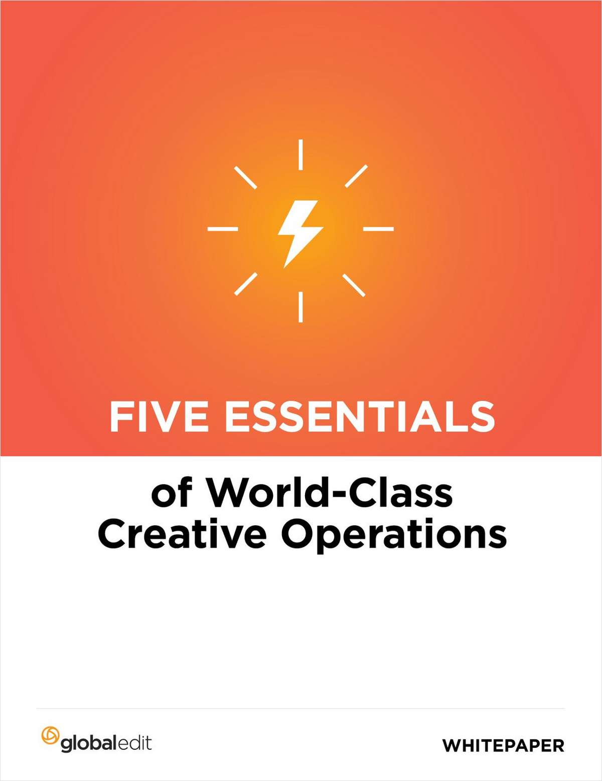 Improve Results with World Class Creative Operations