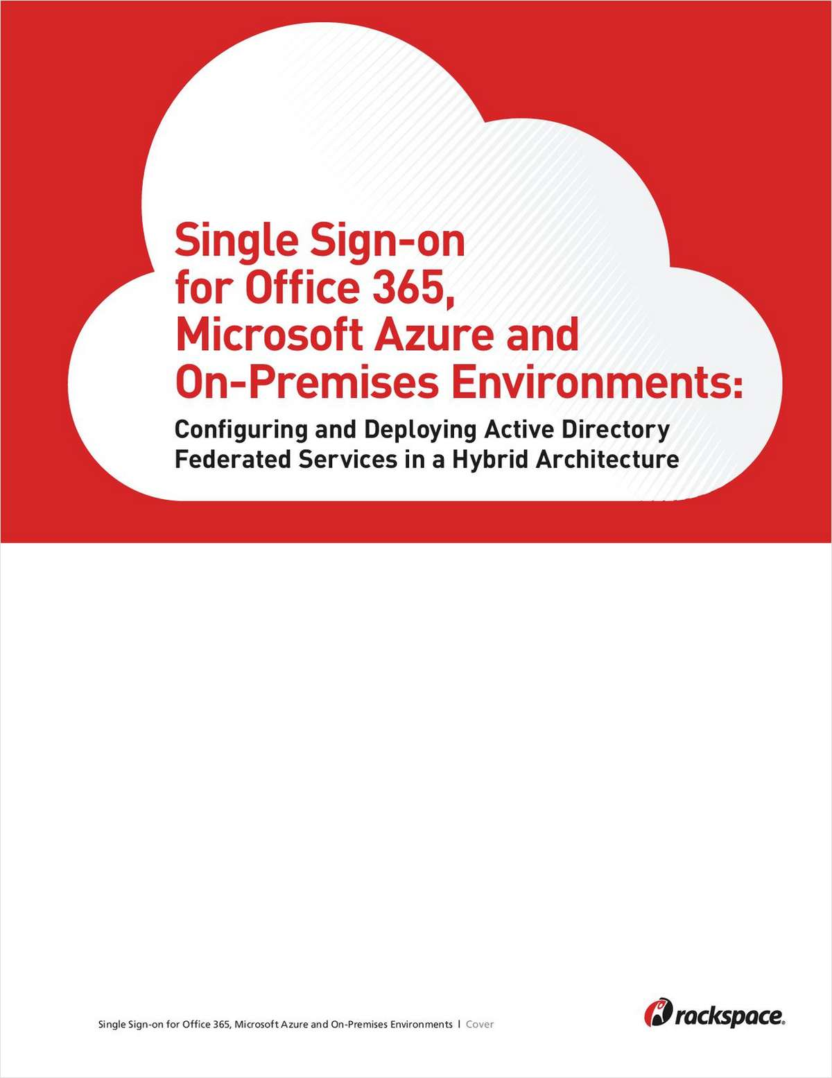 Single Sign-on for Office 365, Microsoft Azure and On-Premises Environments