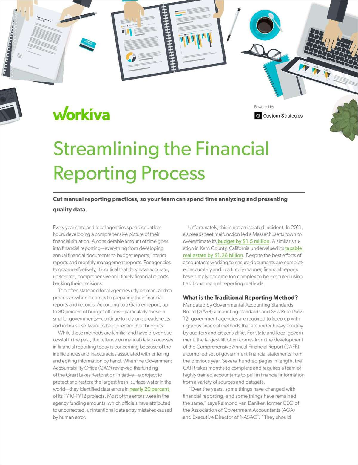 How to Streamline the Financial Reporting Process in Government