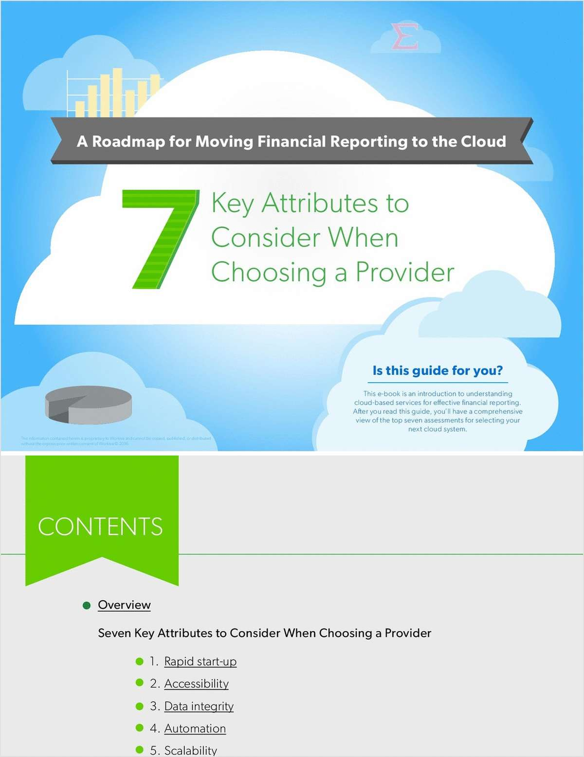 The 7 Critical Pieces of Moving Financial Reporting to the Cloud