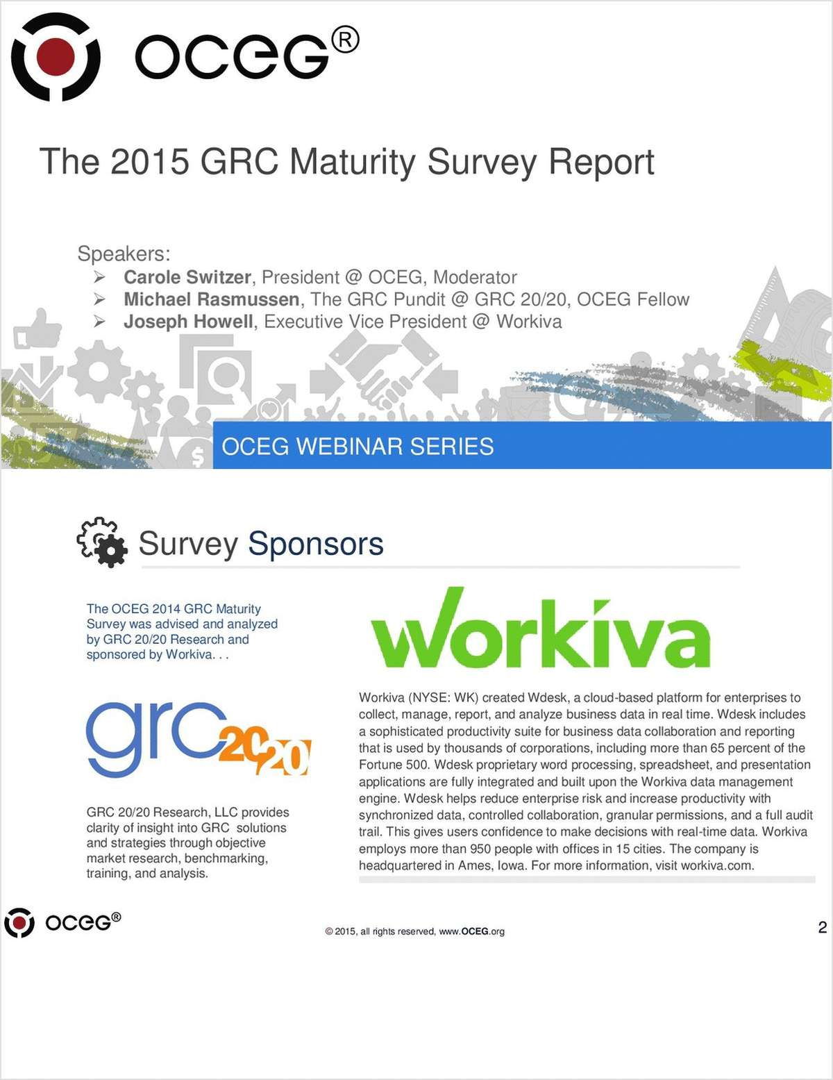 OCEG Survey: How Does Your GRC System Stack Up?