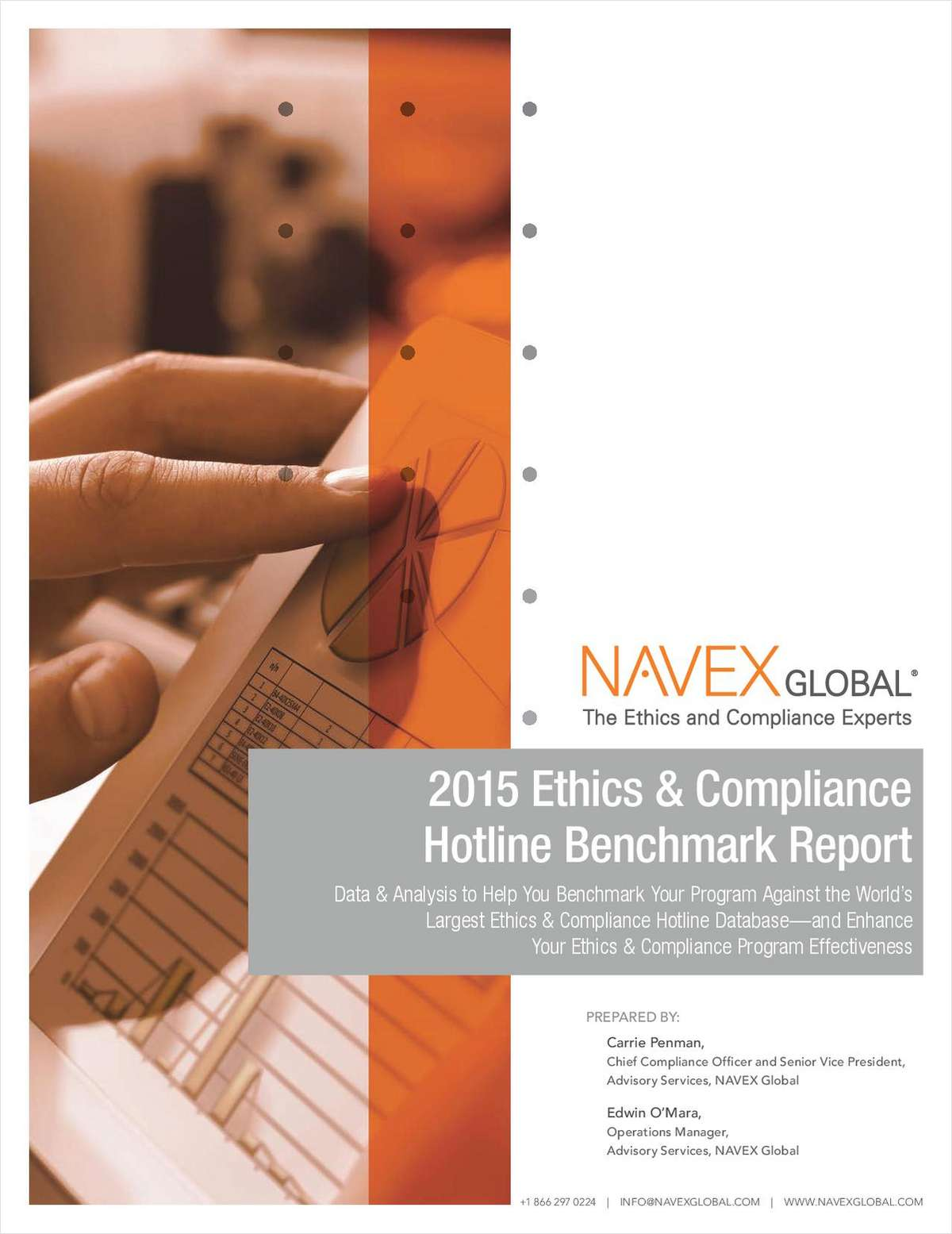 2015 Hotline Benchmark Report for Legal, Ethics and Compliance Professionals