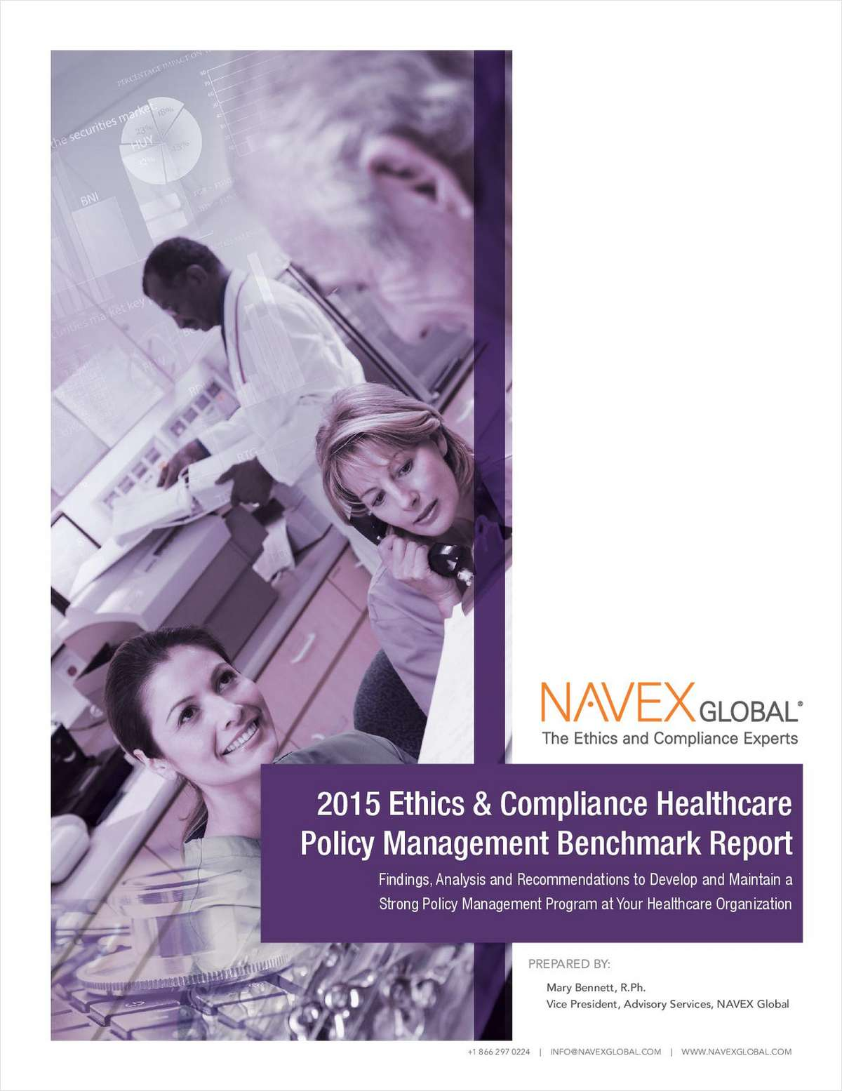2015 Healthcare Policy Management Benchmark Report for Ethics and Compliance Professionals