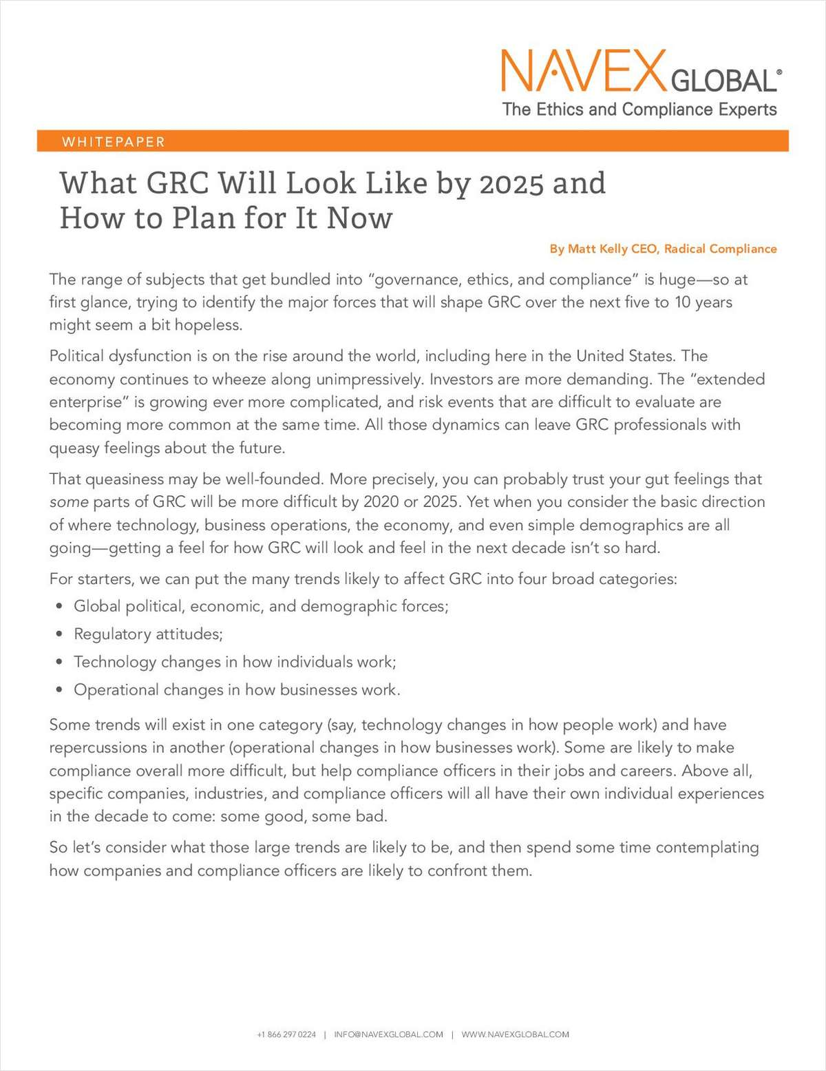 What GRC Will Look Like by 2025 and How to Plan for It Now