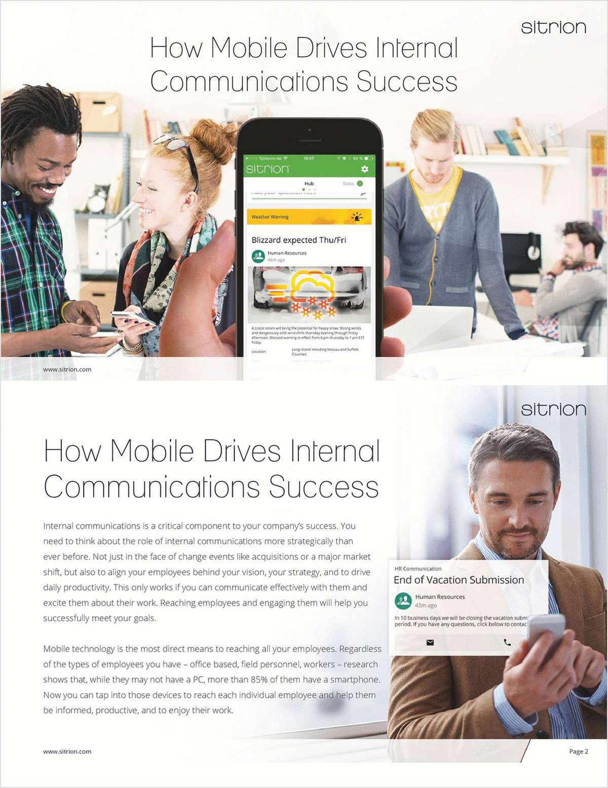 How Mobile Will Drive Internal Communications Success