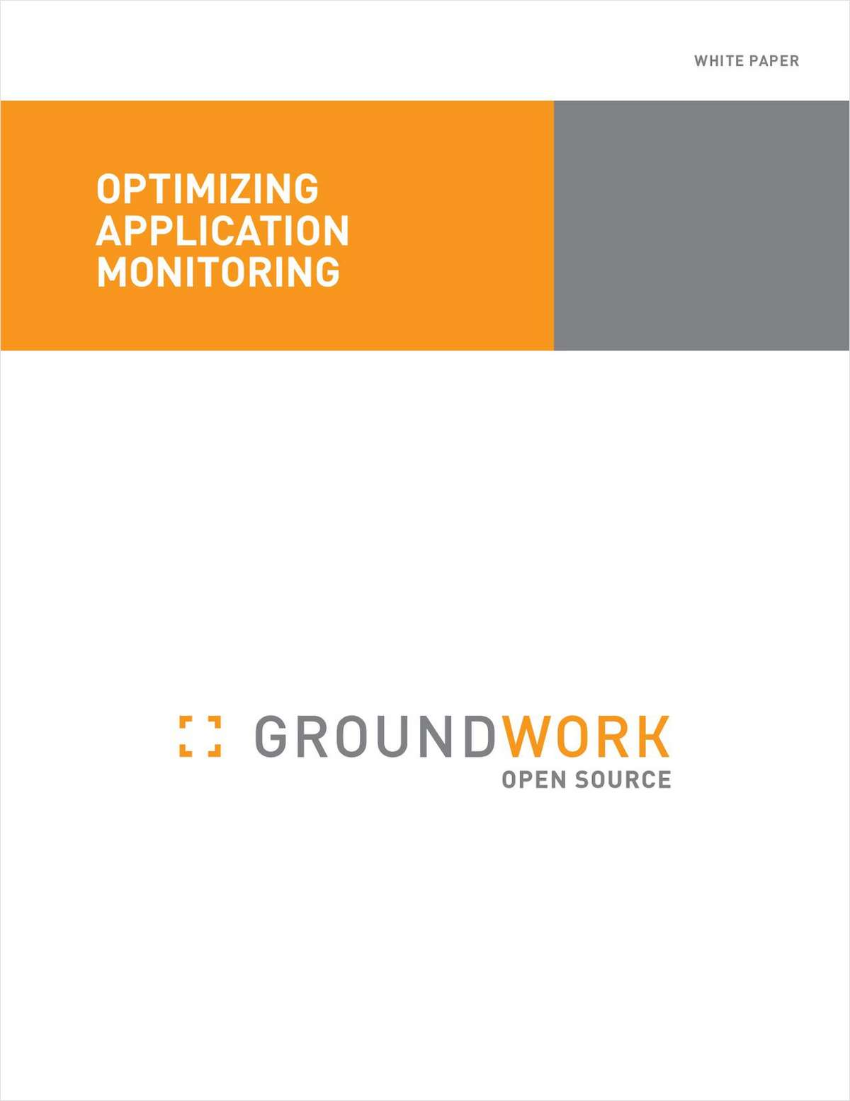 Optimizing Application Monitoring