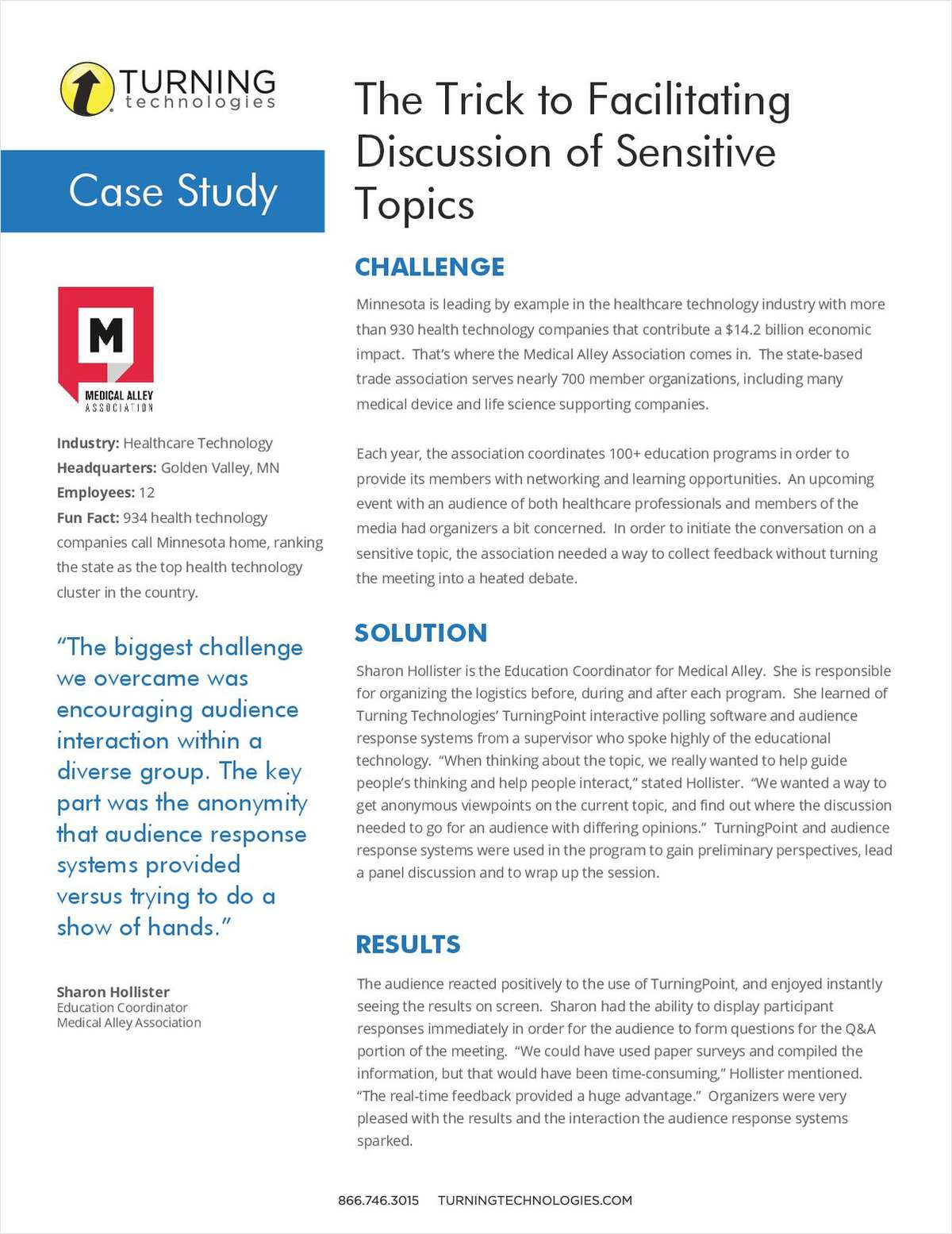 The Trick to Facilitating Discussion of Sensitive Topics