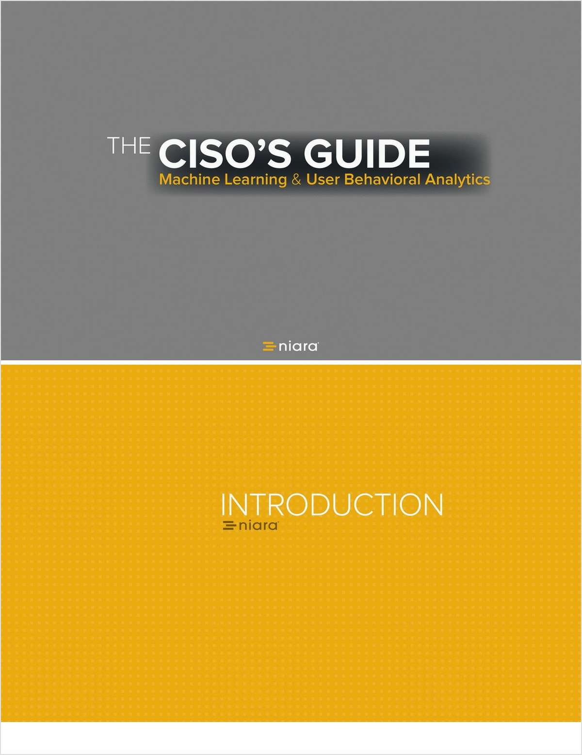 The CISO's Guide to Machine Learning and UBA