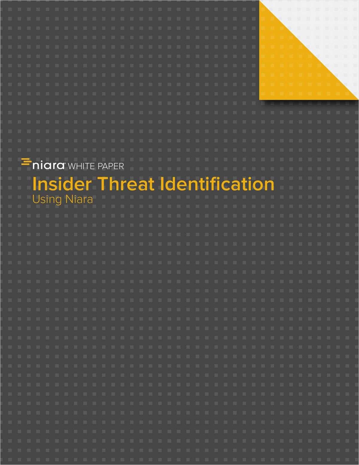 Malicious Insider & Negligent Employee Activity Detection
