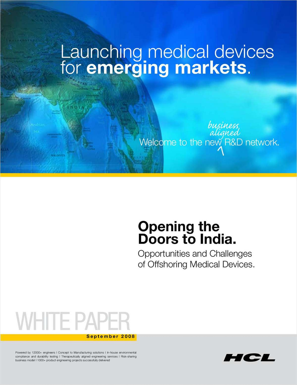 Opening the Doors to India: Opportunities and Challenges of Offshoring Medical Devices
