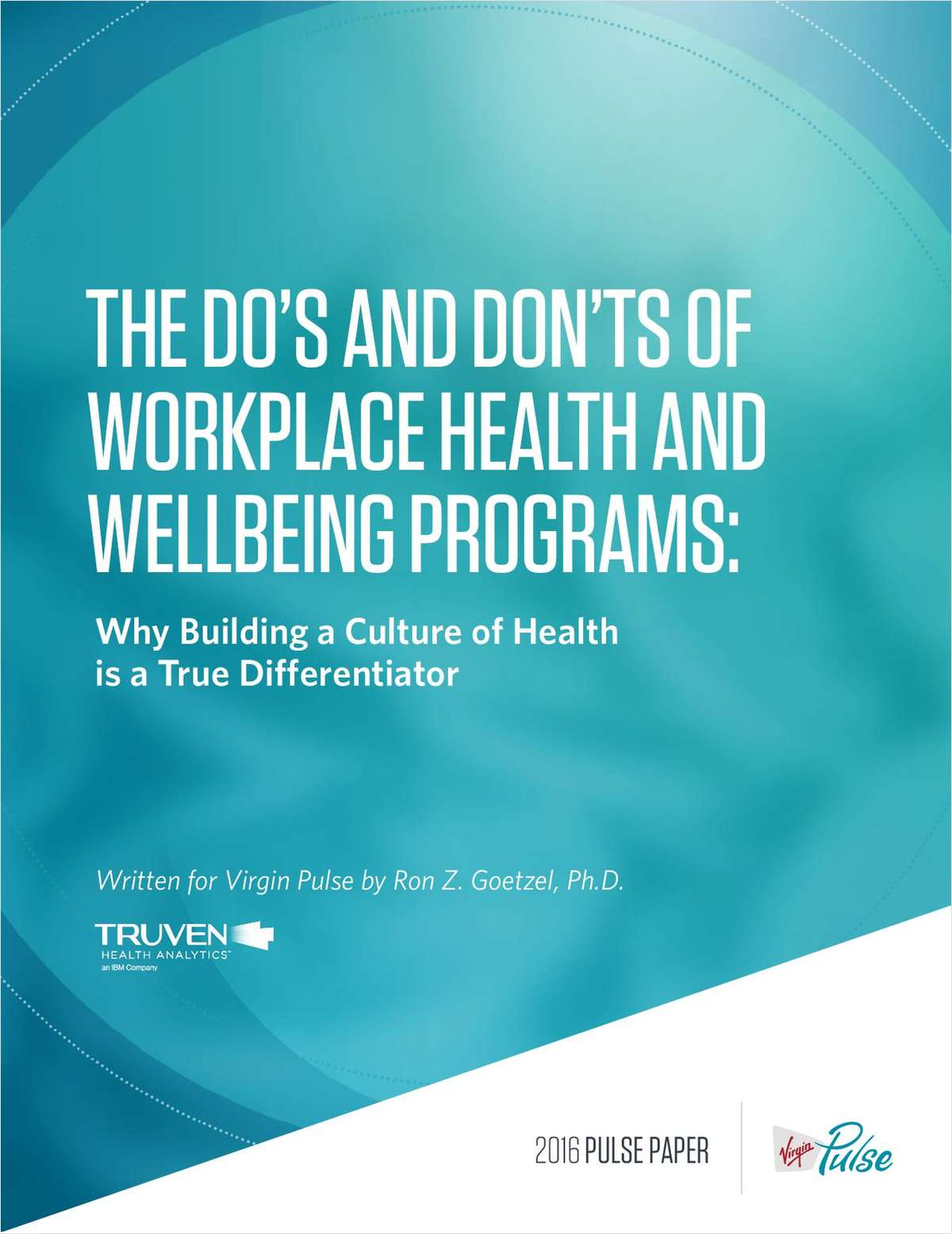 The Do's and Don'ts of Workplace Health and Wellbeing Programs