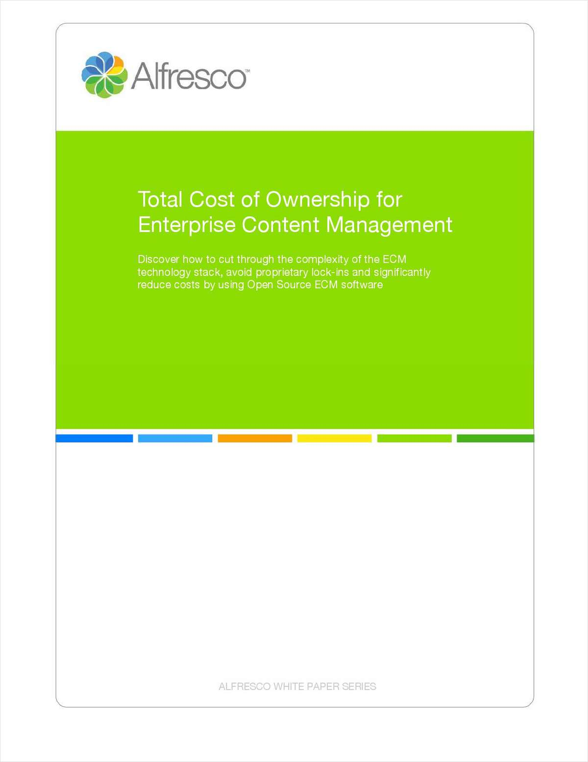 Total Cost of Ownership for Enterprise Content Management