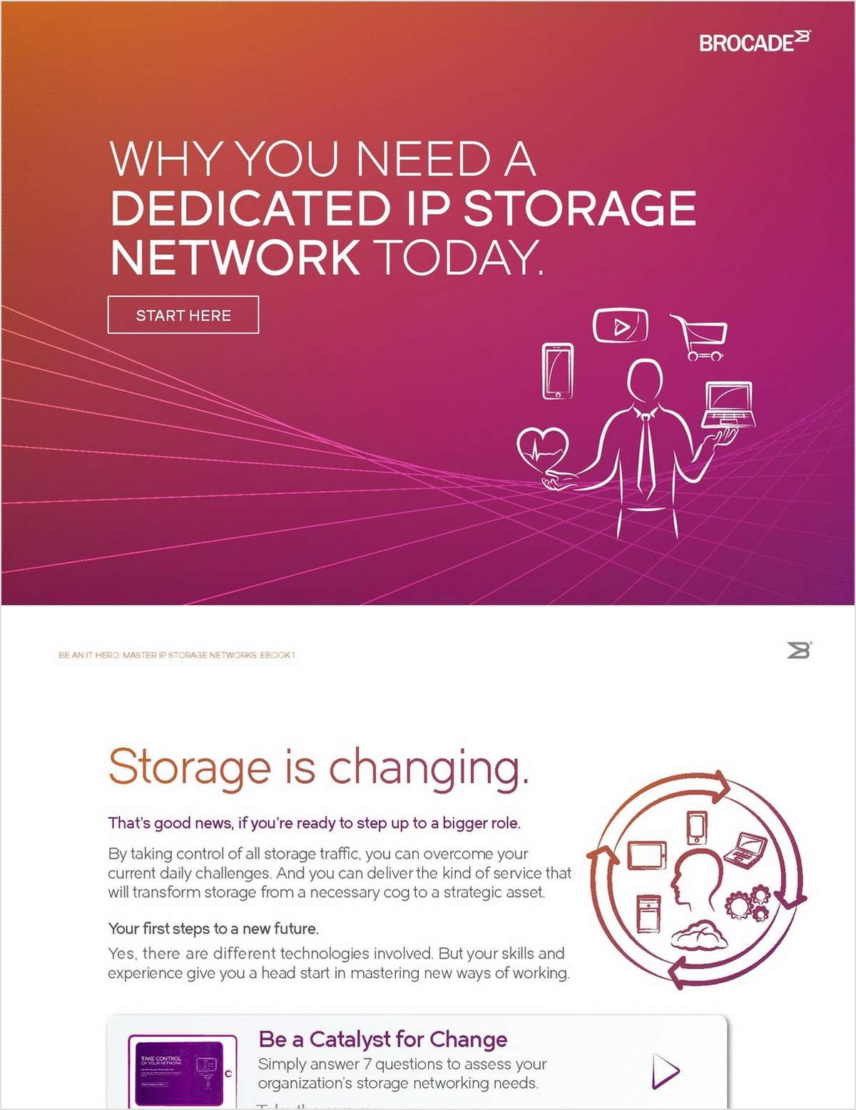 Why You Need a Dedicated IP Storage Network Today