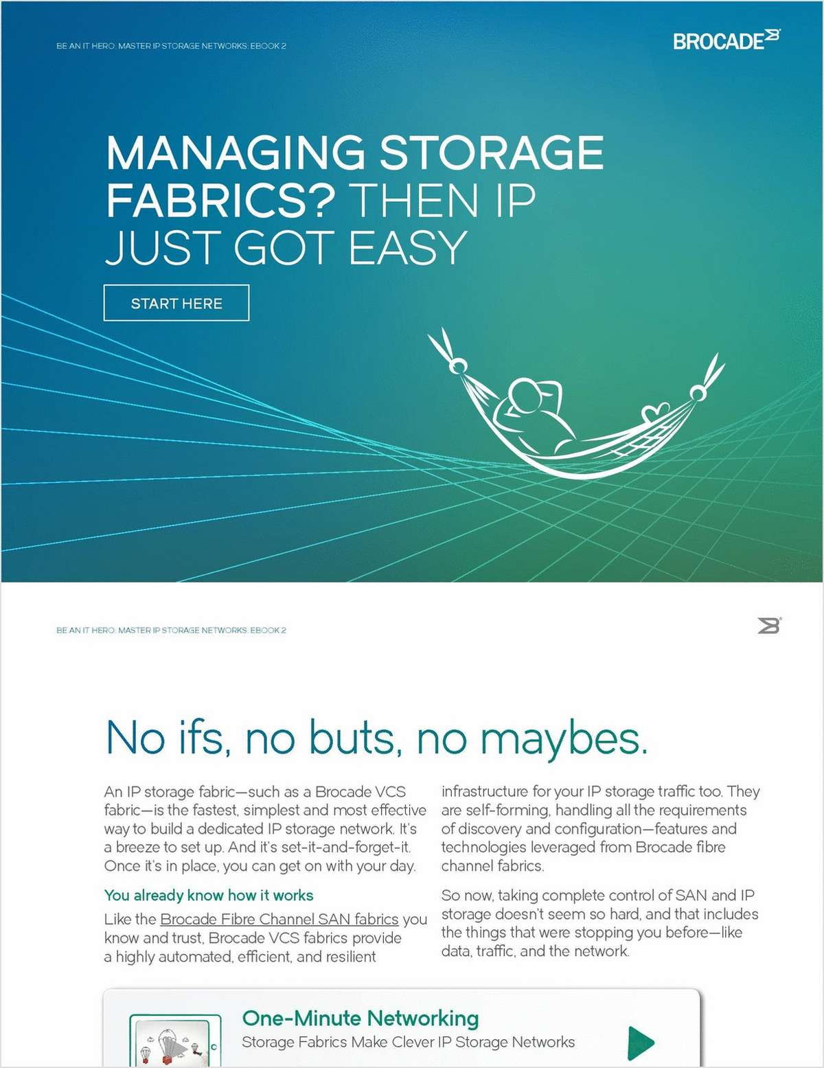 Managing Storage Fabrics?  Then IP Just Got Easy