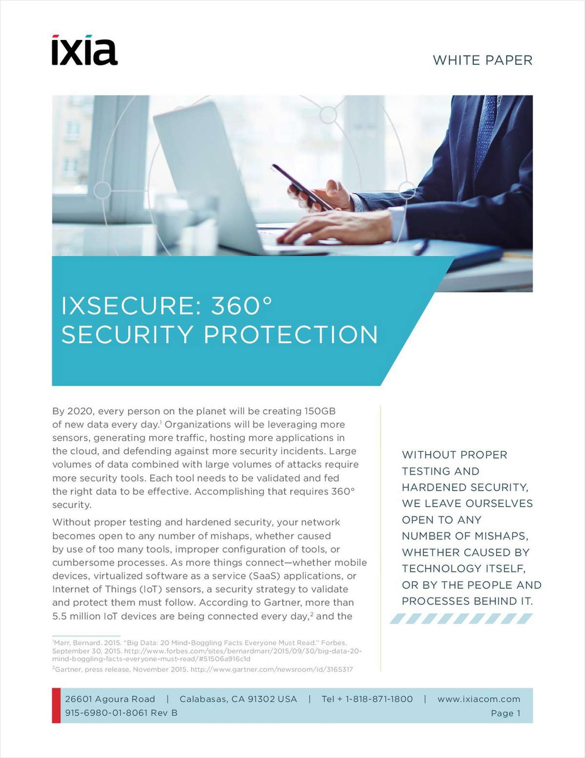 IxSecure: 360° Security Protection Free White Paper