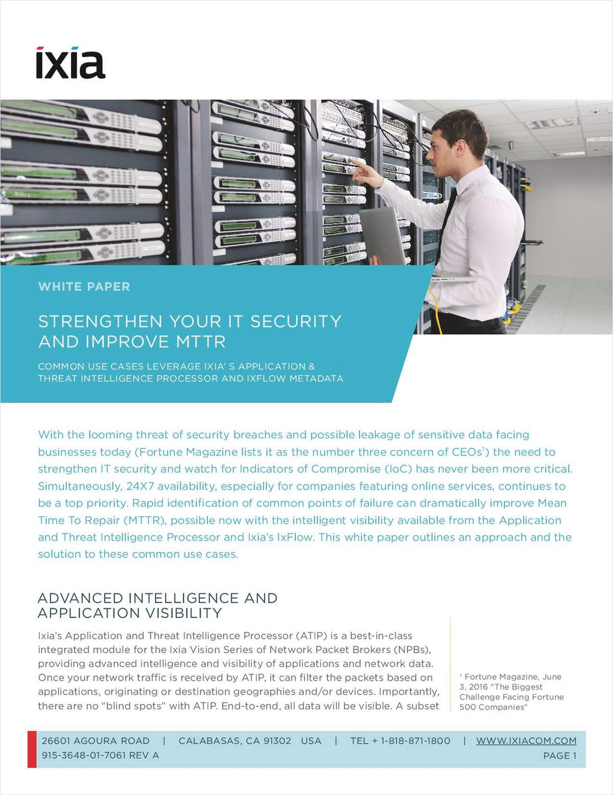 Strengthen your IT Security and Improve MTTR