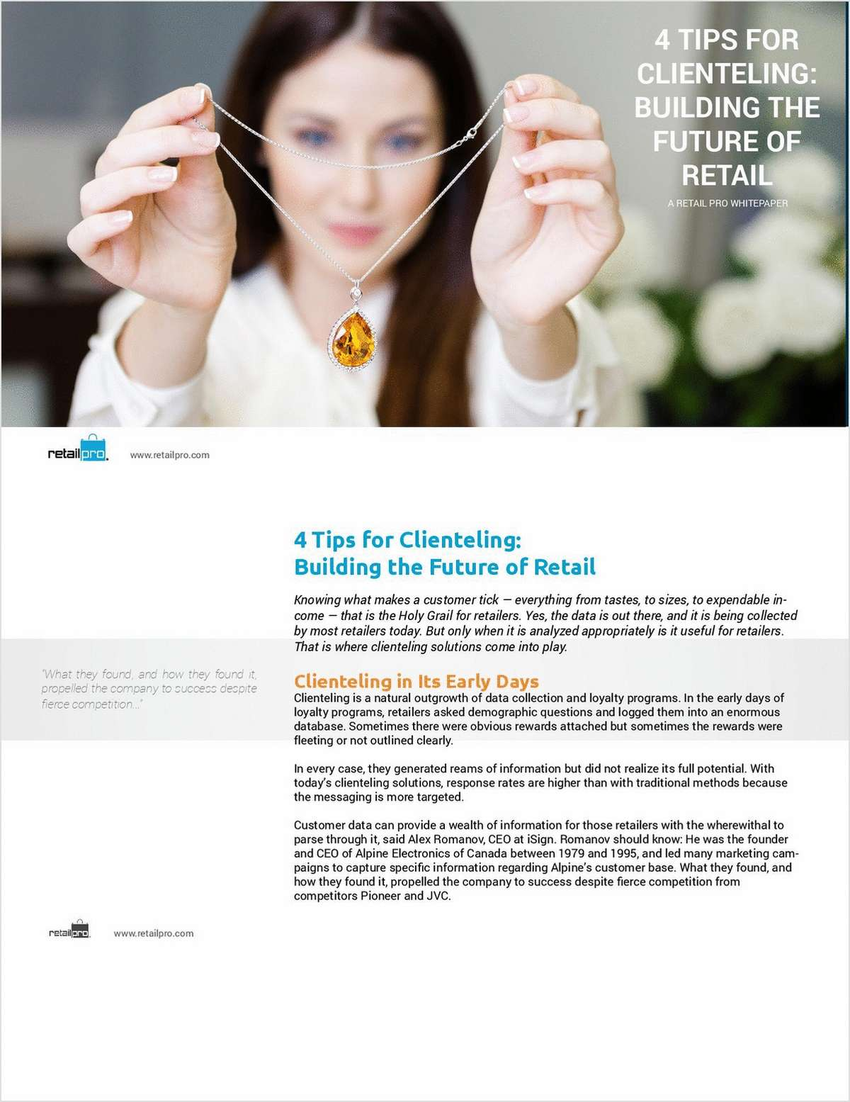 4 Tips For Clienteling: Building The Future Of Retail