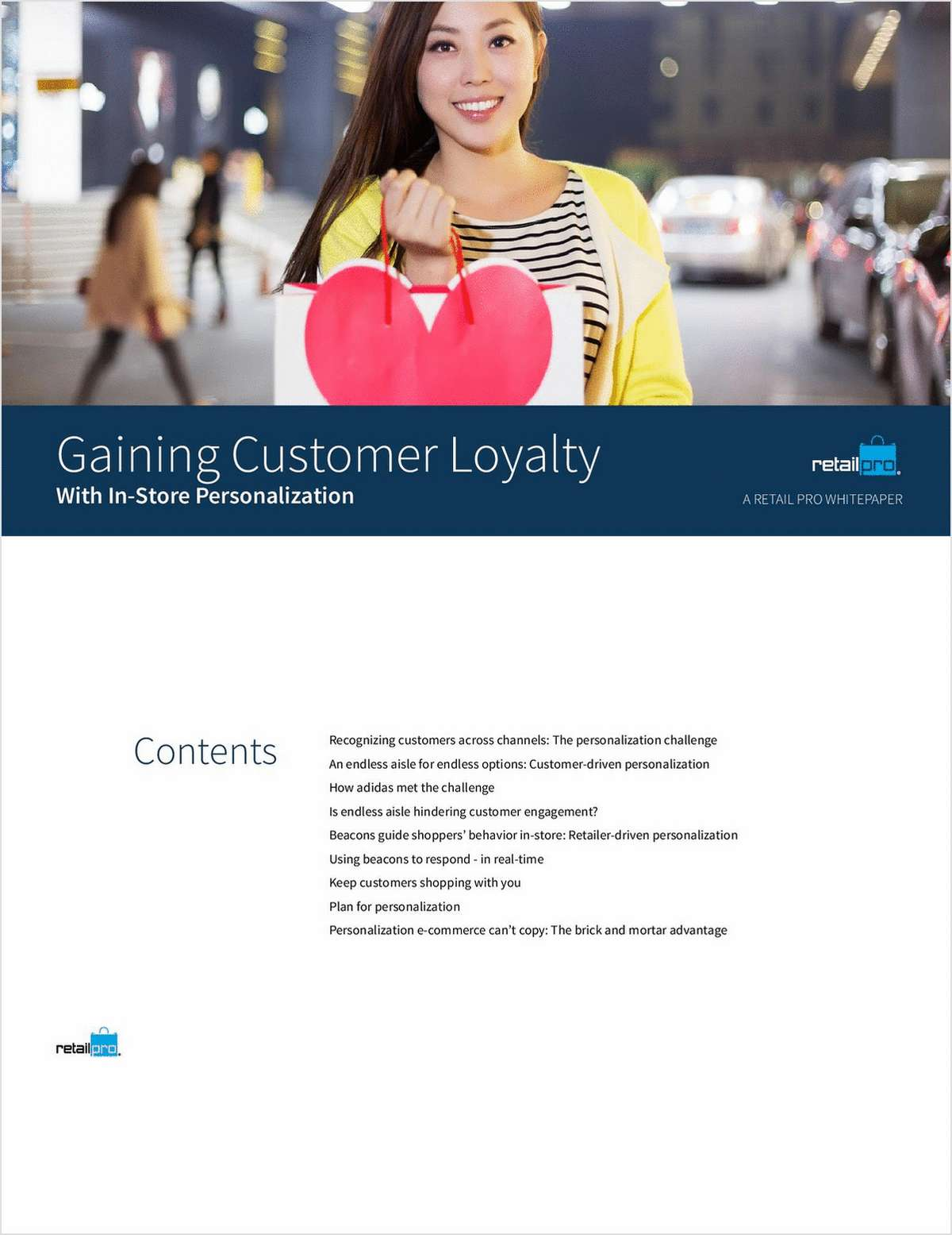 Gaining Customer Loyalty with Personalization