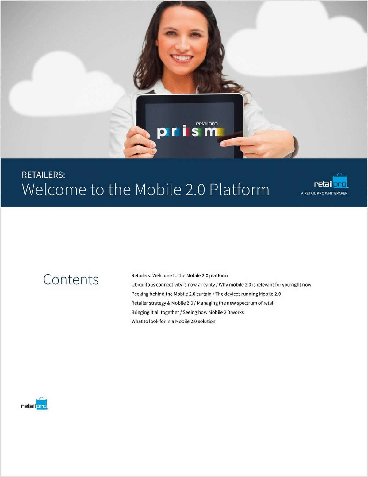 Retailers: Welcome to the Mobile 2.0 Platform