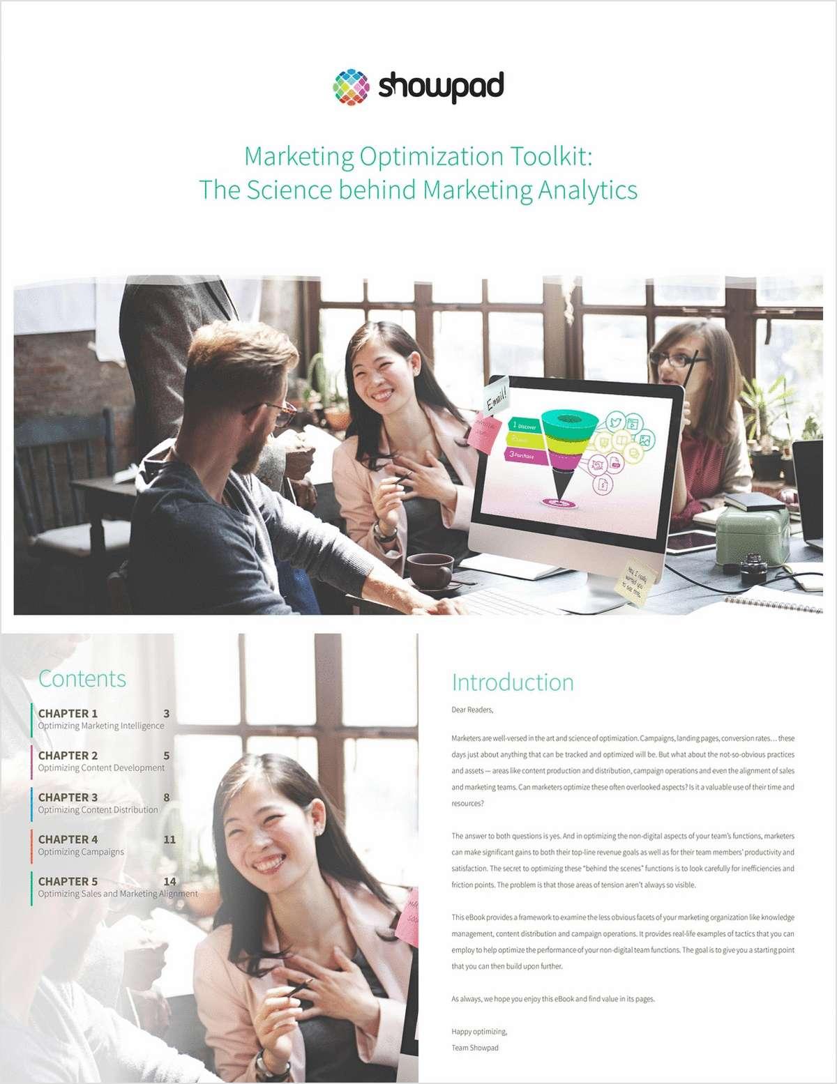 Marketing Optimization Toolkit: The Science behind Marketing Analytics