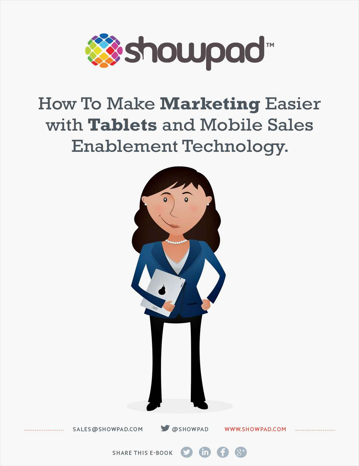 How to Make Marketing Easier with Tablets and Mobile Sales Enablement Technology