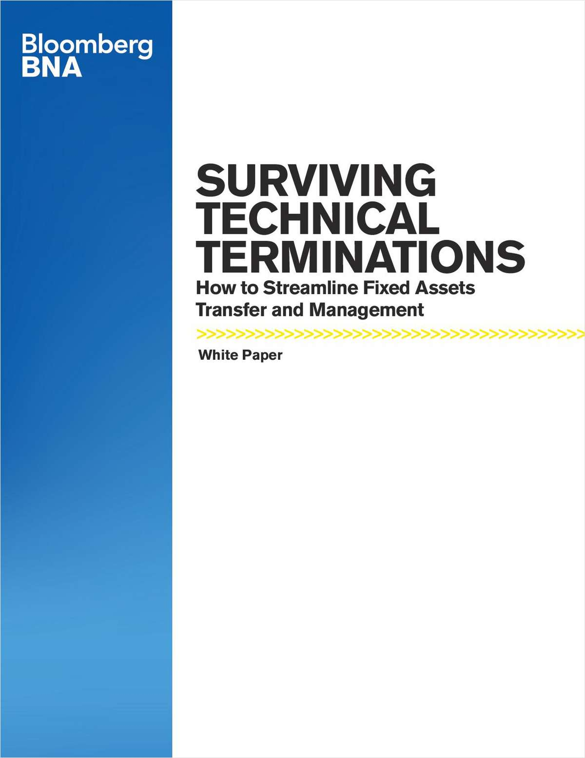 Surviving Technical Terminations: How to Streamline Fixed Assets Transfer and Management