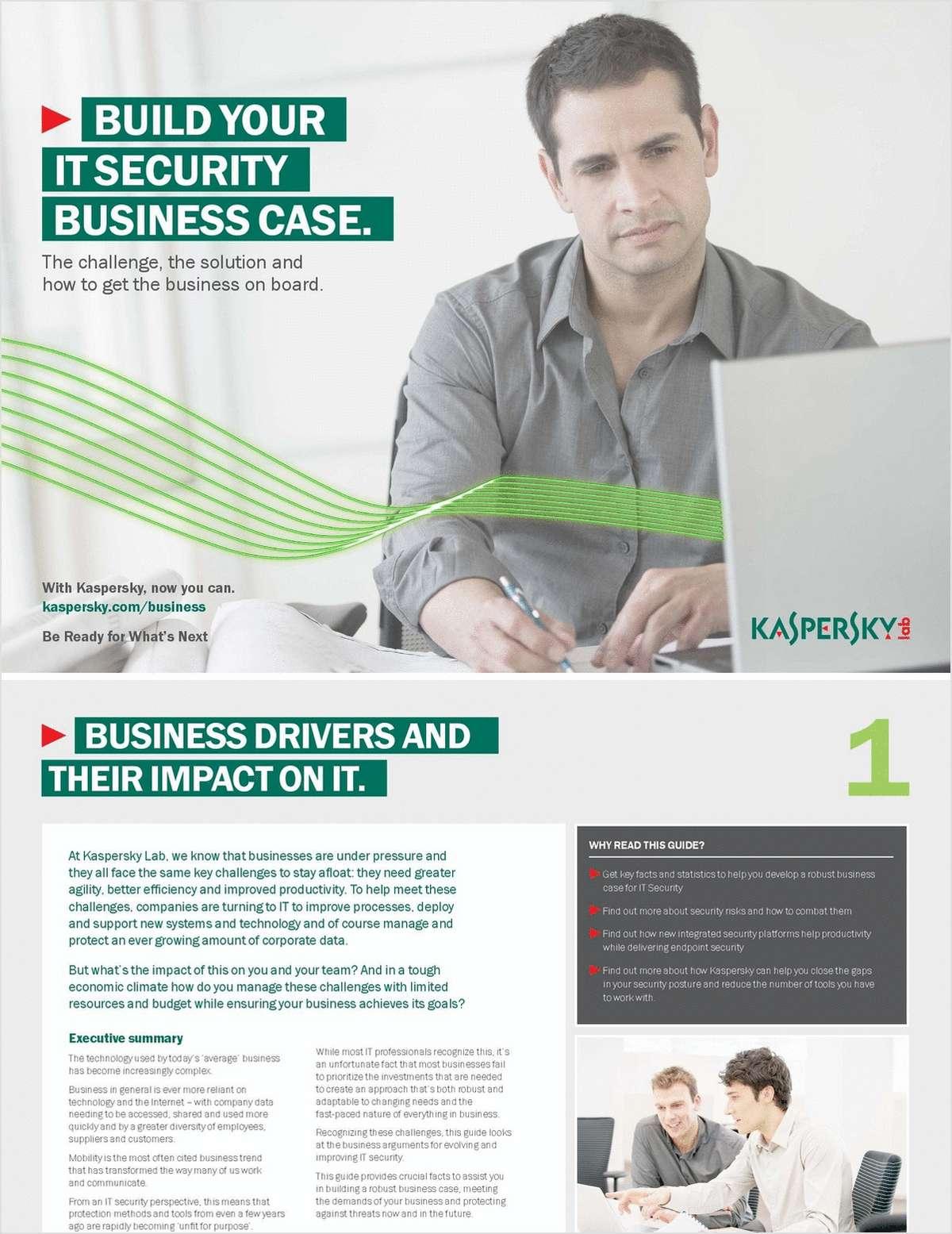 Build Your IT Security Case