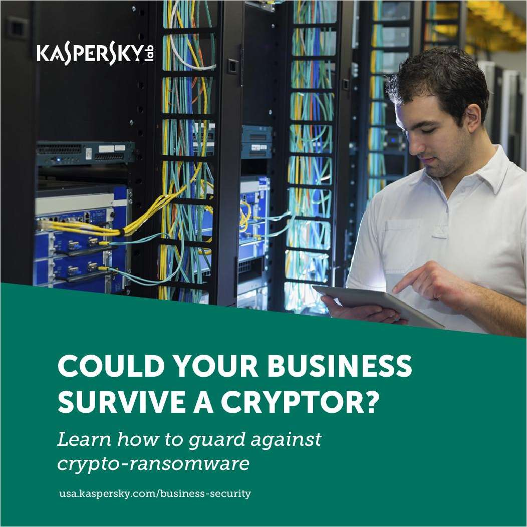 Could Your Business Survive a Cryptor?