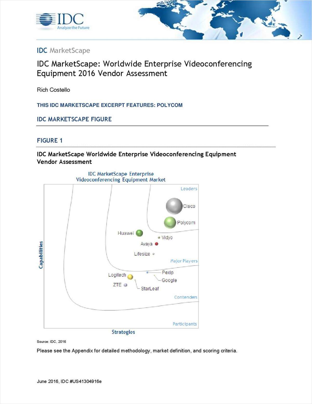 IDC Marketscape for Group Videoconferencing