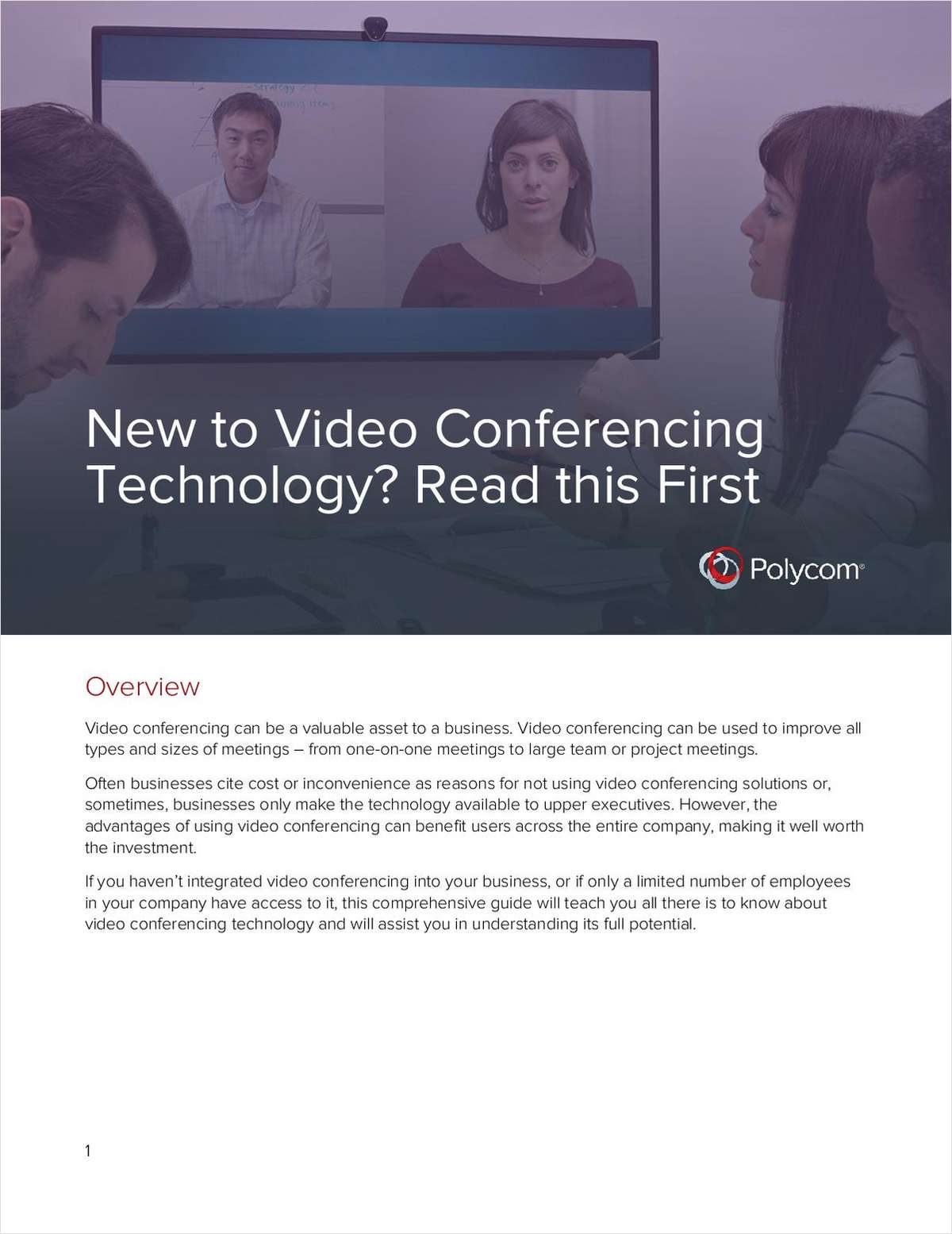 New to Video Conferencing Technology? Read this First