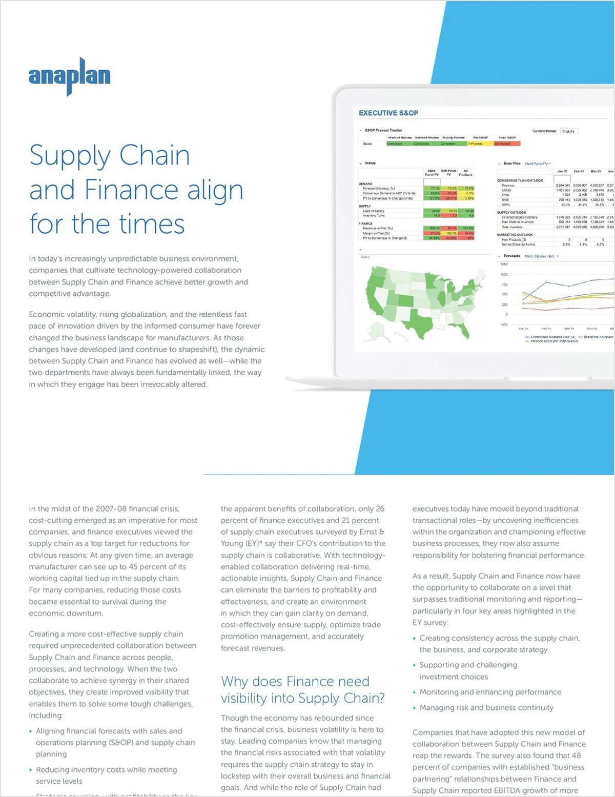 Supply Chain and Finance Align for the Times