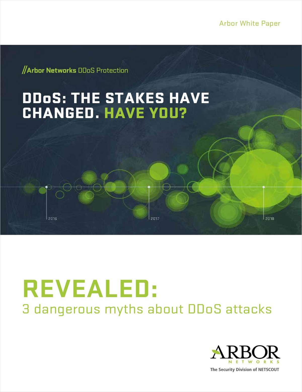 DDoS: The Stakes Have Changed. Have You?