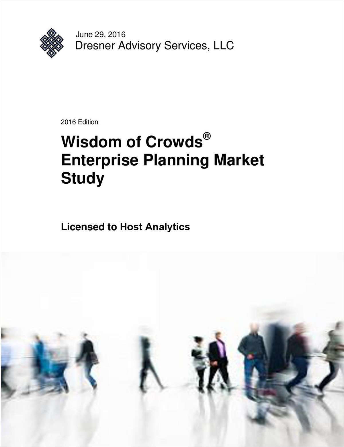 Wisdom of Crowds® Enterprise Planning Market Study