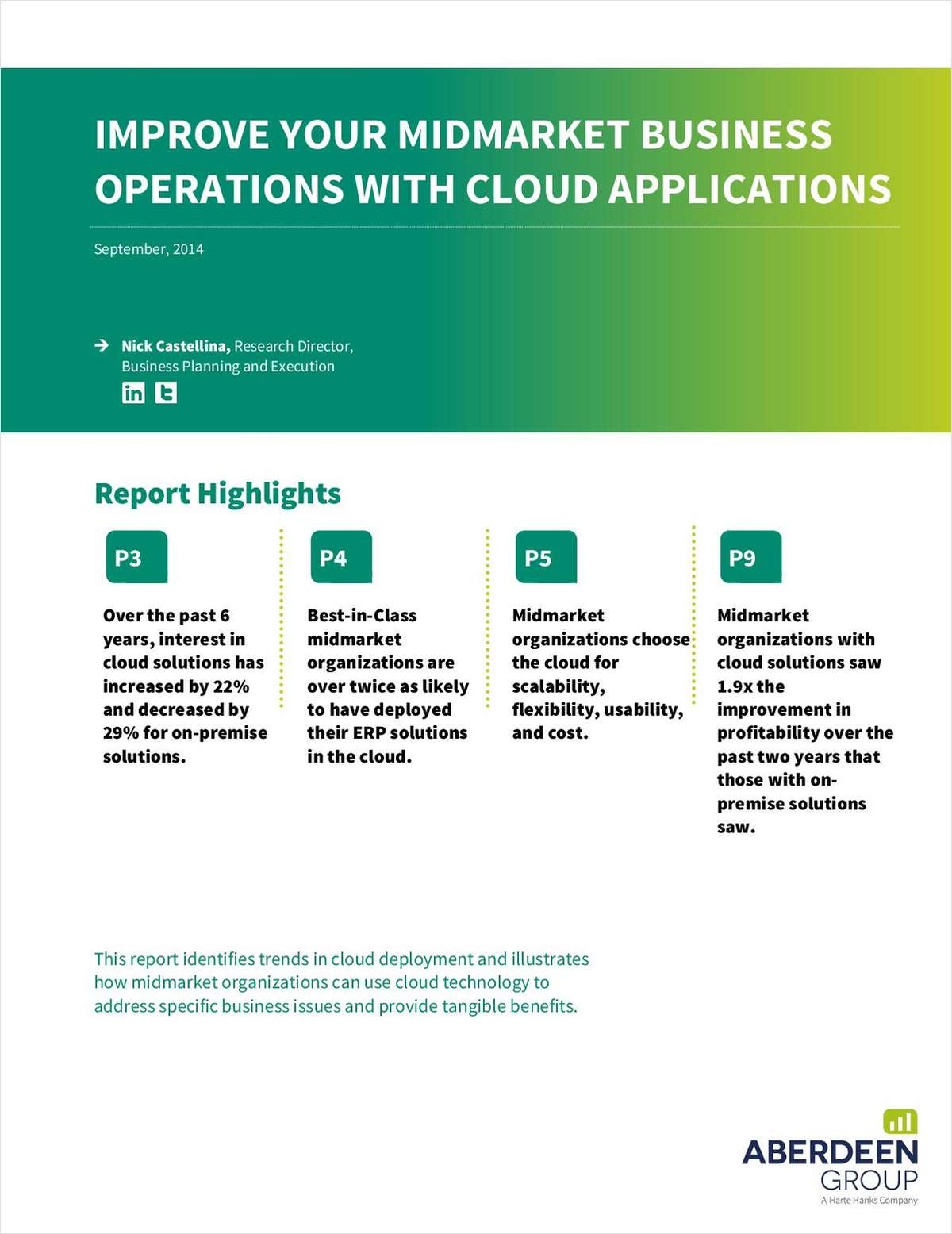 Improve Your Mid-Market Business Operations on the Cloud