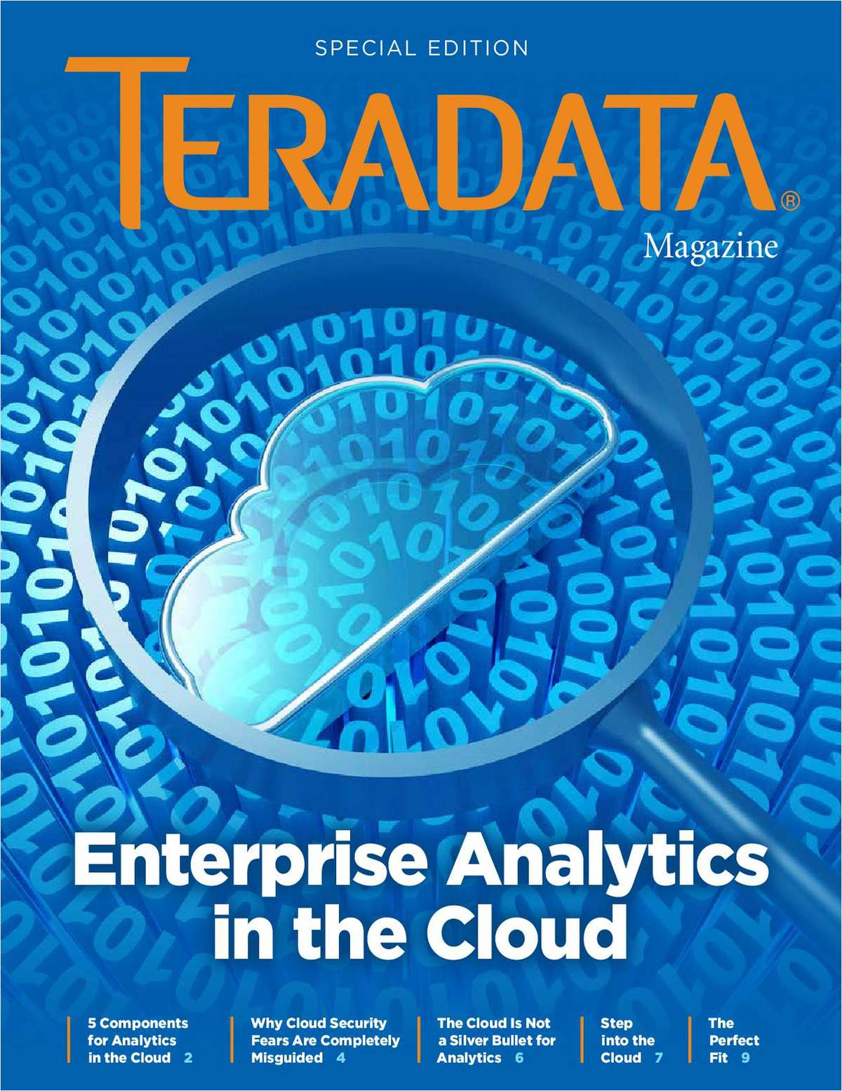 Enterprise Analytics in the Cloud