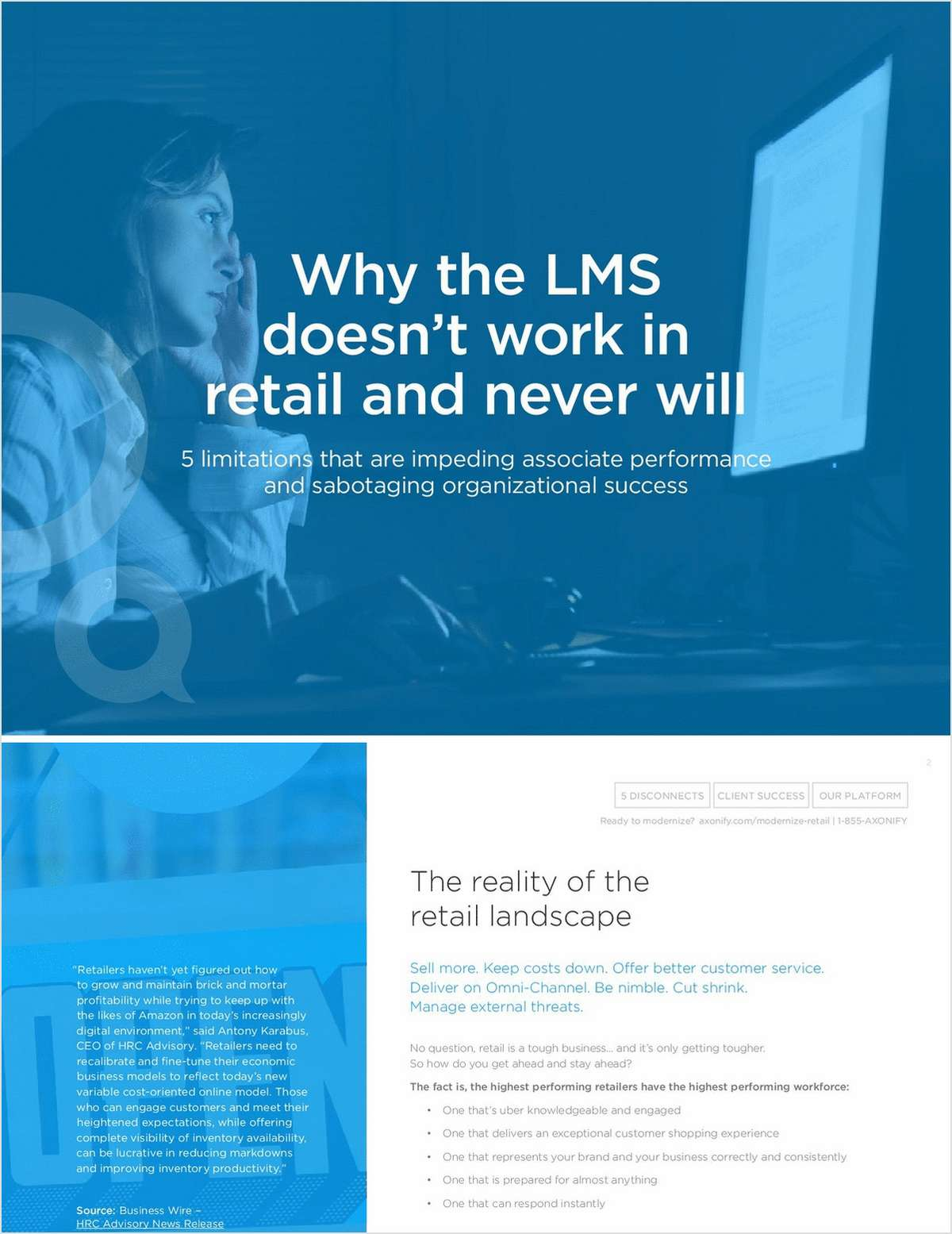 Why the LMS Doesn't Work in Retail and Never Will