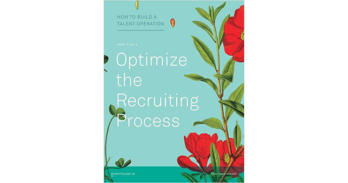 TalentOps Part 3: Optimize the Recruiting Process, Free