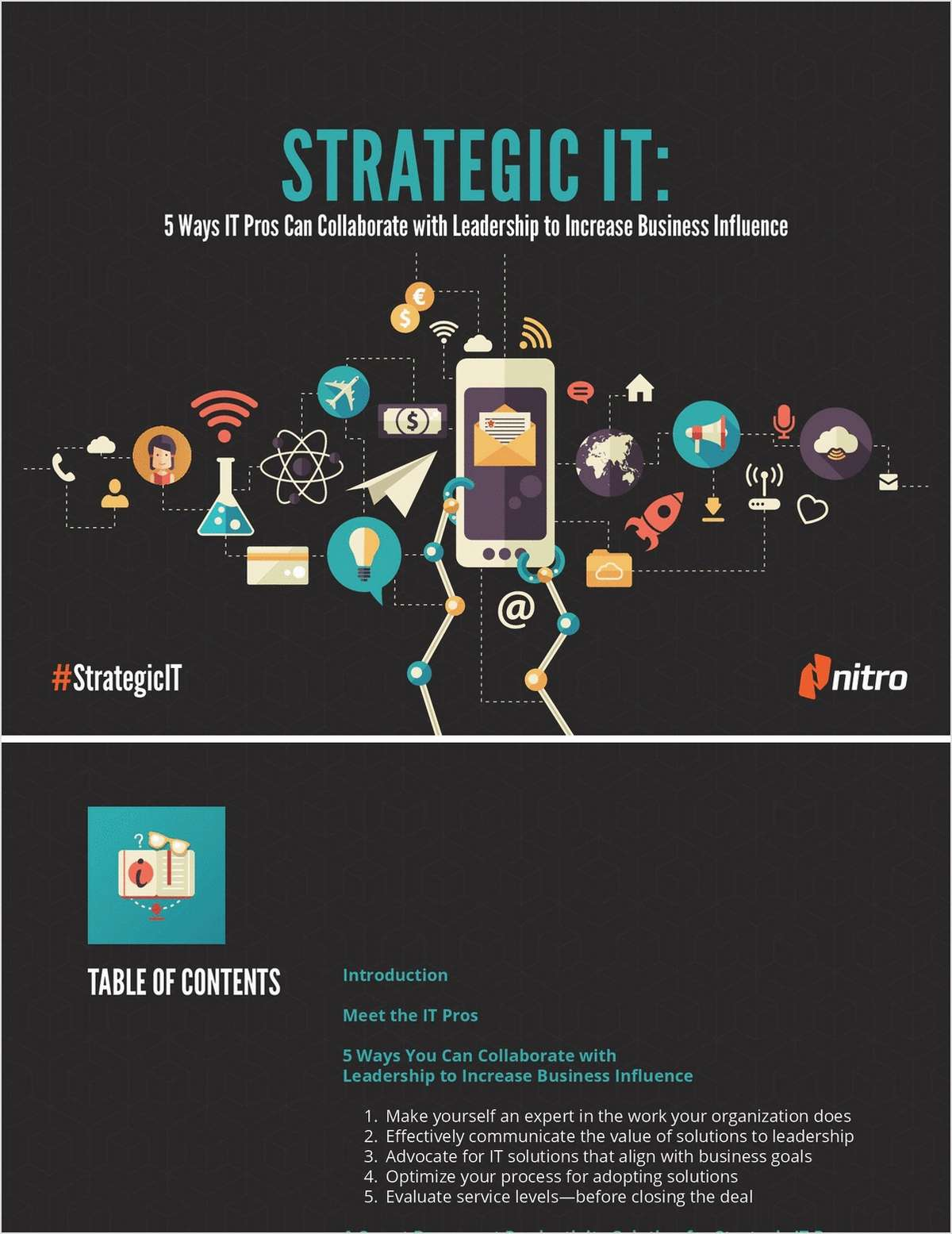 Strategic IT: 5 Ways IT Pros Can Collaborate with Leadership to Increase Business Influence