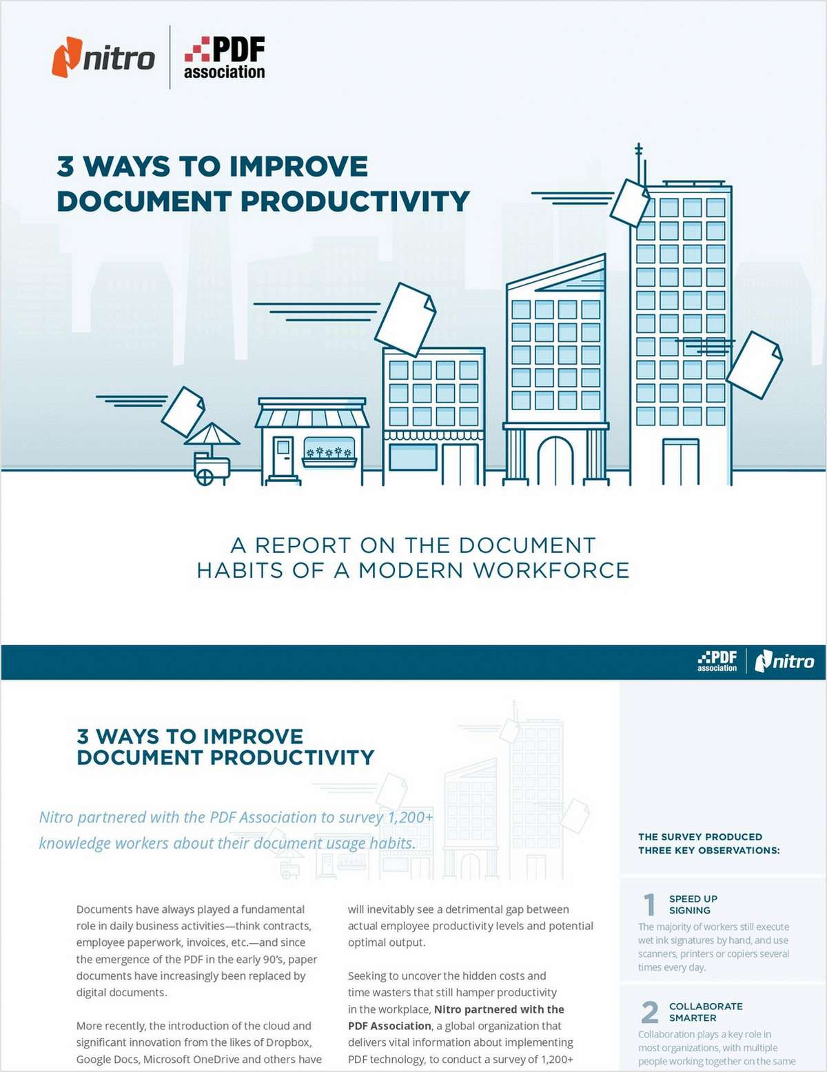 3 Ways to Improve Document Productivity