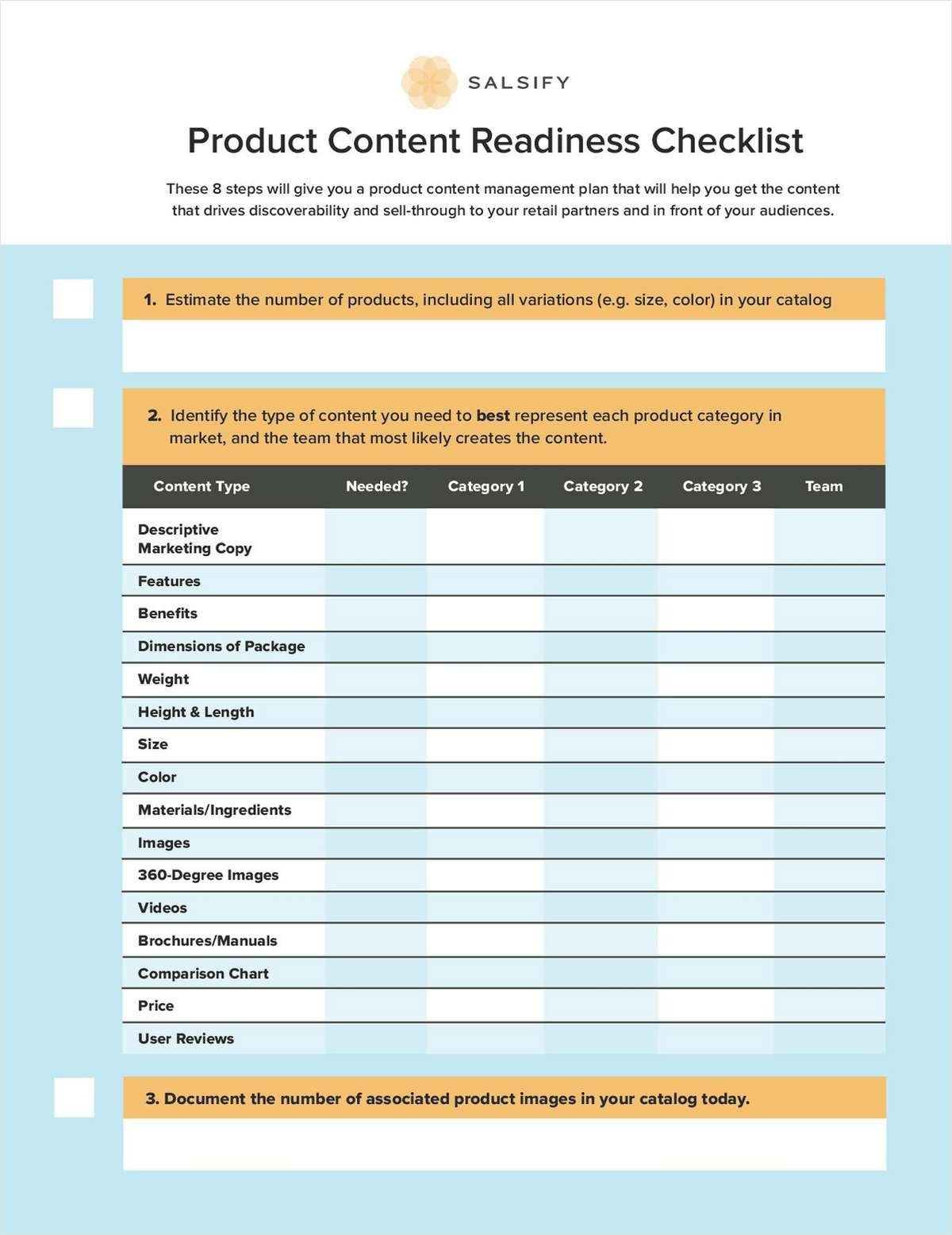 Get Ready to Sell More with the Product Content Readiness Checklist
