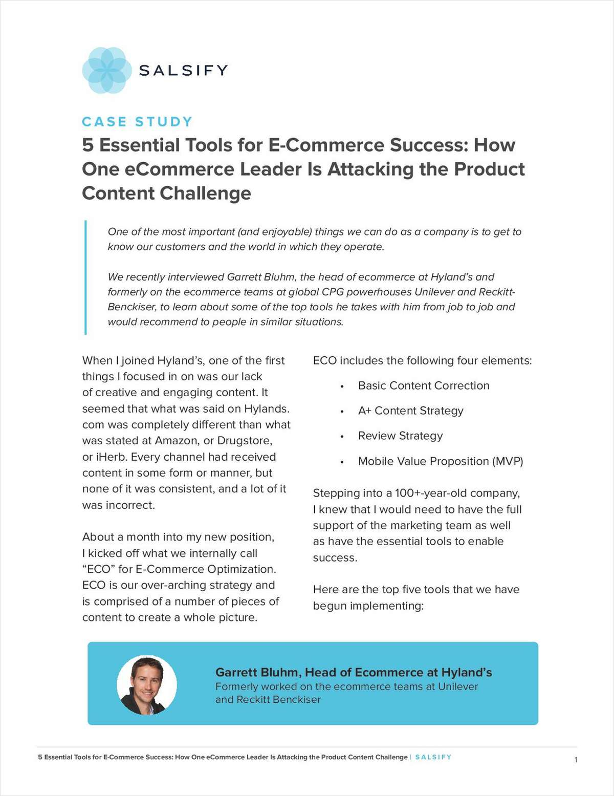 Attacking the Product Content Challenge: 5 Essential Tools for Hyland's E-commerce Success