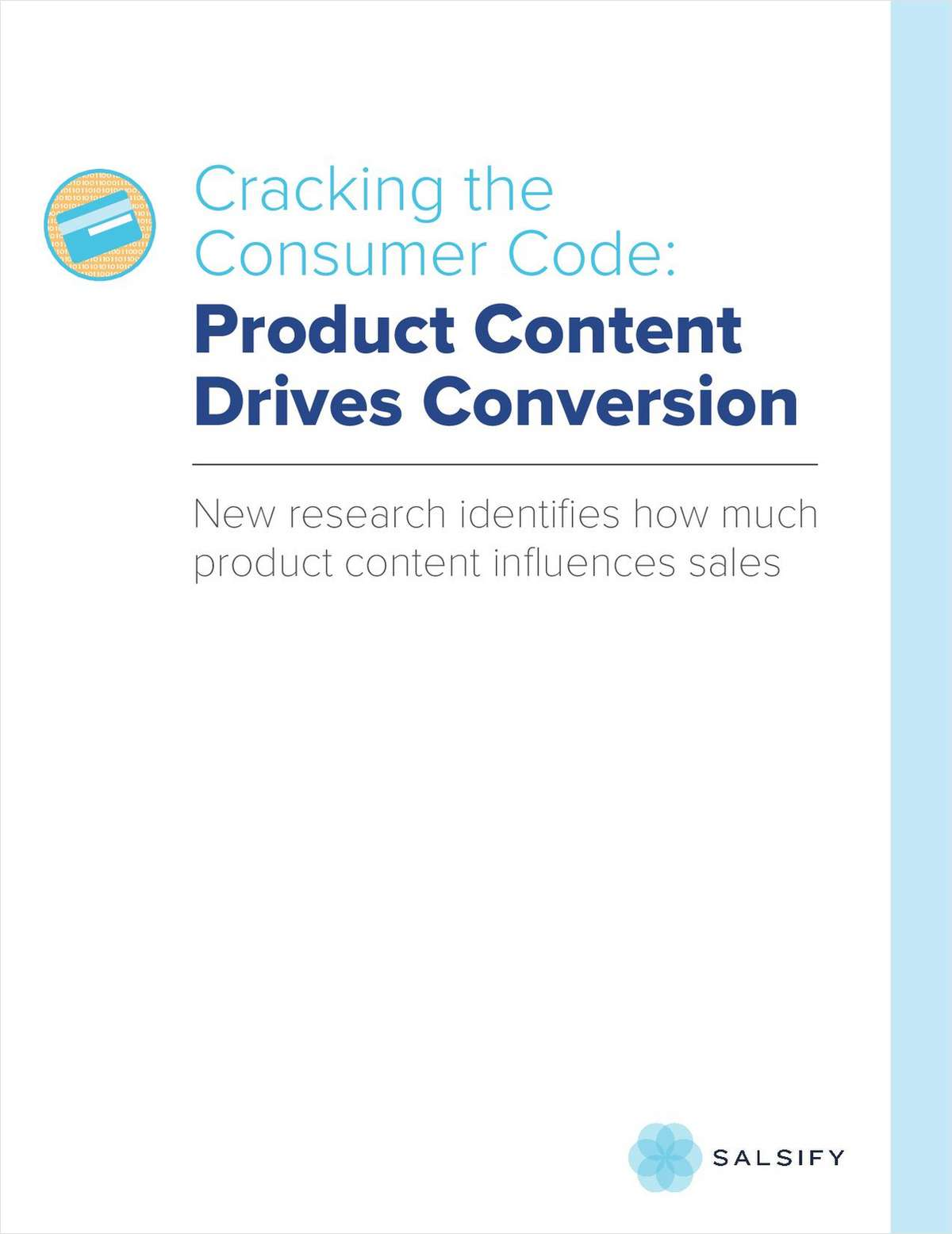 Cracking the Consumer Code: Product Content Drives Conversion