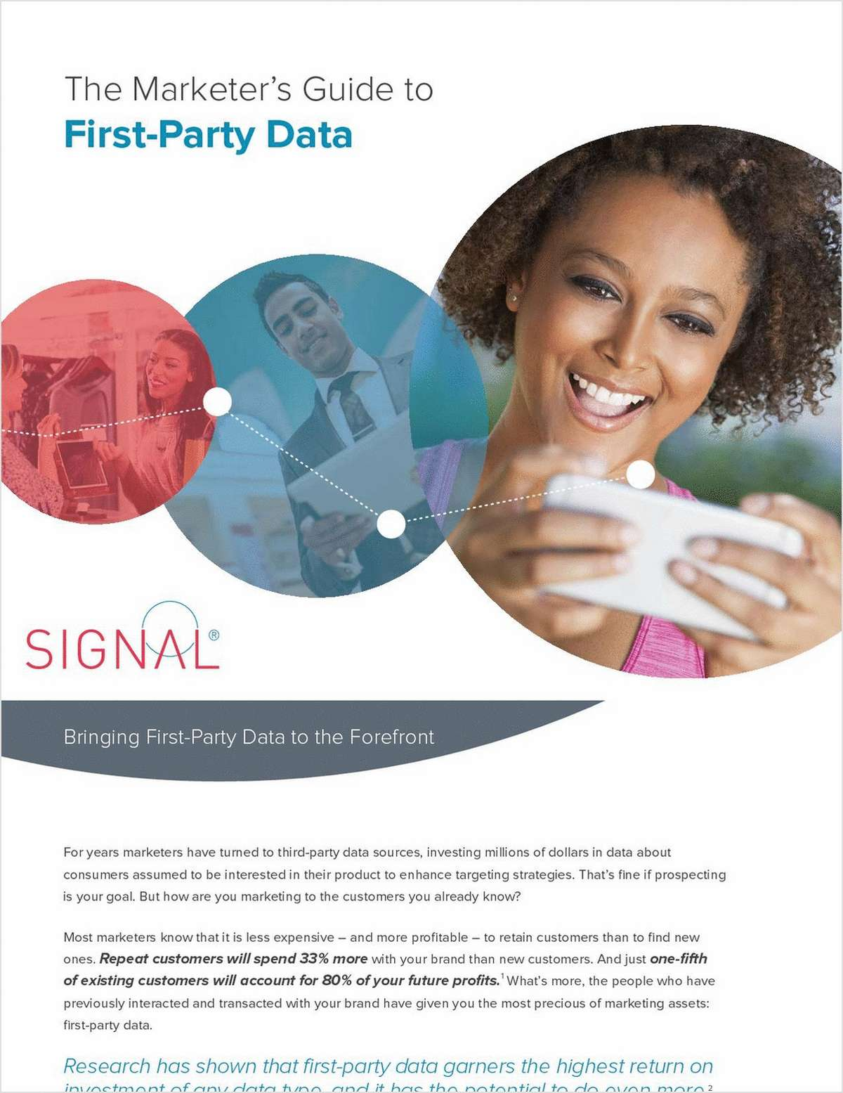 Why Marketers Use First-Party Data to Drive Brand Loyalty and Customer Retention