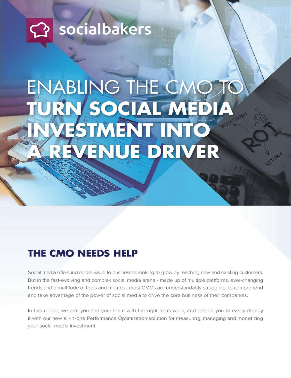 CMOs: Turn Social Media into a Revenue Driver