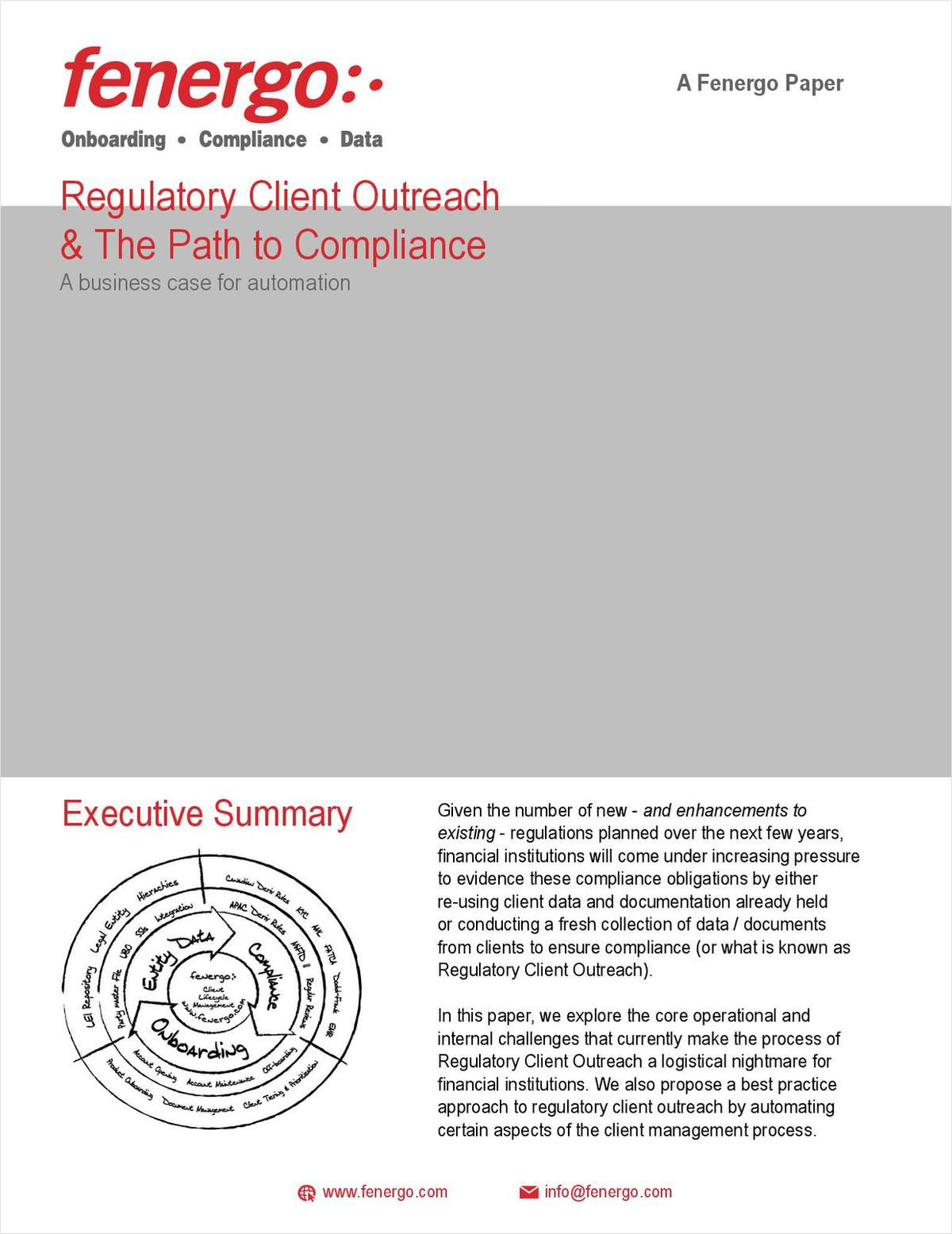 Regulatory Client Outreach & The Path to Compliance