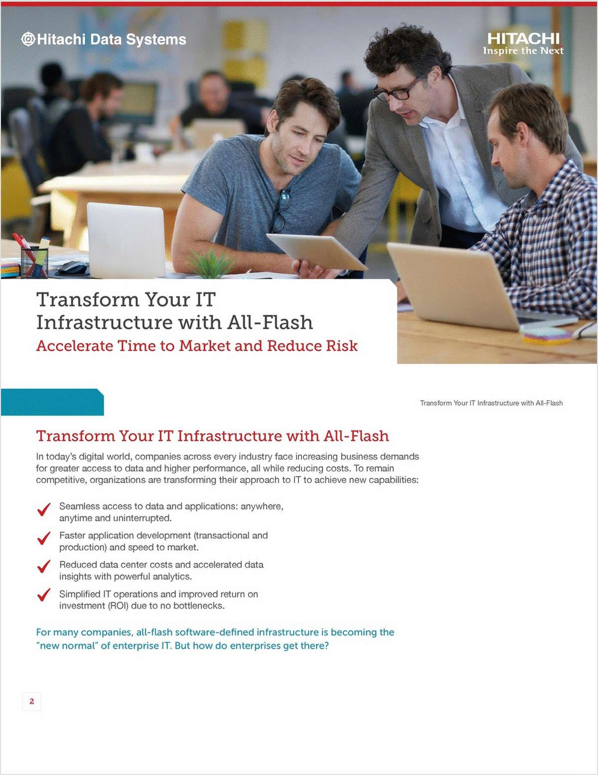 Transform Your IT Infrastructure with All-Flash